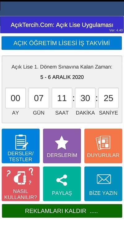 Mobil Uygulamamız Güncellendi: SORU ARAMA ve GECE MODU için güncelleme yapmayı unutmayın