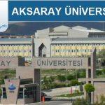 Aksaray Üniversitesi 2018 YKS Taban Puanları