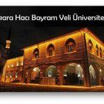 Ankara Hacı Bayram Veli Üniversitesi 2018 2019 Taban Puanları