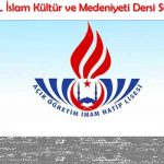 Açık Öğretim İHL (714) İslam Kültürü ve Medeniyeti 2 Testi (Nisan 2019)