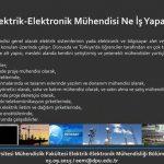 Elektrik-Elektronik Mühendisliği ÇalışmaAlanları ve İş İmkanları