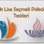Açık Lise (206) Seçmeli Psikoloji 1 Testi (Nisan 2019)