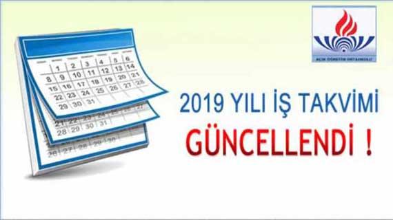 Açık Öğretim Orta Okulu 2019 İş Takvimi yayınlandı