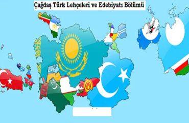 Çağdaş Türk Lehçeleri ve Edebiyatları İş Olanakları