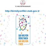 Bir Milyon Öğretmen Bir Milyon Fikir