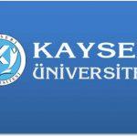 Kayseri Üniversitesi 2018 YKS Taban Puanları