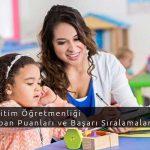 Özel Eğitim Öğretmenliği Taban Puanları