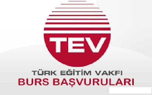 Türk Eğitim Vakfı (TEV) Bursları